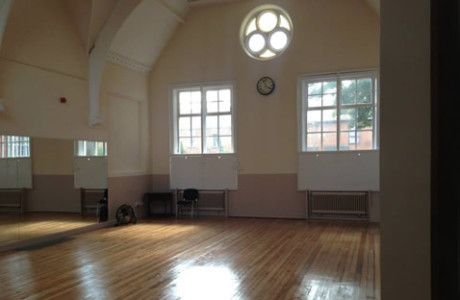 spacious main studio for hire in norwich